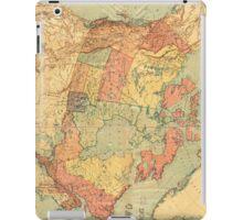Vintage Map of Canada (1898) iPad Case/Skin