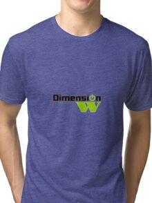 Dimension W Main Logo Tri-blend T-Shirt