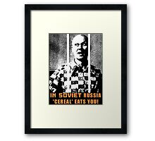 'Cereal' Killer Framed Print