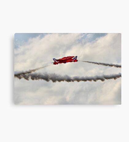 Red Arrows Synchro Pair - Farnborough 2014 Canvas Print
