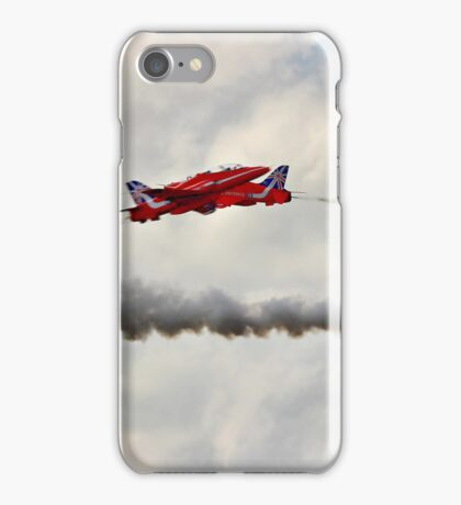 Red Arrows Synchro Pair - Farnborough 2014 iPhone Case/Skin