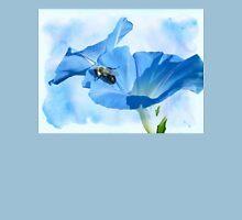 Bumblebee and Blue Morning Glory Unisex T-Shirt