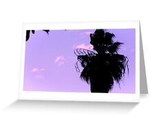Orchid Sky Greeting Card