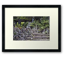 Buddha Path Framed Print