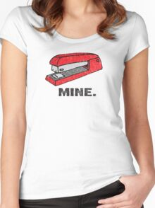 Vintage Red Stapler Women's Fitted Scoop T-Shirt
