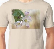 Apple Blossom White Unisex T-Shirt