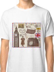 London Symbol B Classic T-Shirt