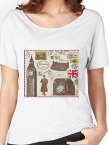 london Symbol Women's Relaxed Fit T-Shirt