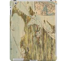 Vintage Cape Cod and NYC Steamboat Route Map iPad Case/Skin