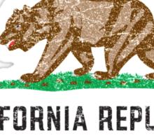 Vintage California Cannabis Sticker