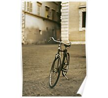 lonely bicycle Poster