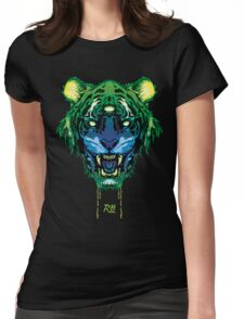 RL9 - Toxic Tiger  Womens Fitted T-Shirt
