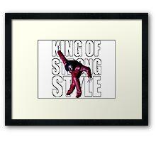 Shinsuke Nakamura - The King of Strong Style Framed Print