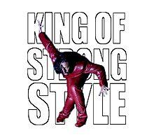 Shinsuke Nakamura - The King of Strong Style Photographic Print
