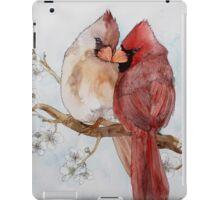 Lovely Cardinals iPad Case/Skin
