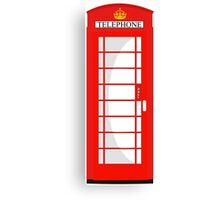 London Telephone 2 Canvas Print