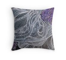 """Ghost of a Tree Hugger"" Throw Pillow"