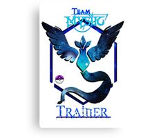 Team Mystic - Master Ball 1  Canvas Print