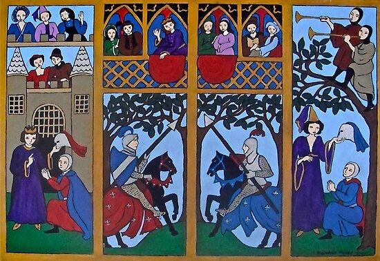 Medieval Scene by Shulie1