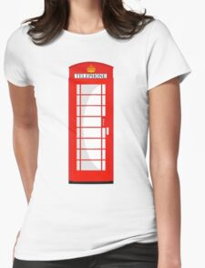 London Telephone 578 Womens Fitted T-Shirt