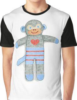 Sock Monkey Graphic T-Shirt
