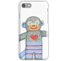 Sock Monkey iPhone Case/Skin