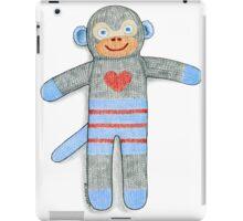 Sock Monkey iPad Case/Skin