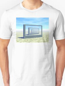 Flat Screen Desert Scene Unisex T-Shirt