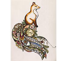 Fox on a journey  Photographic Print