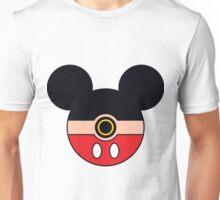 Mickey Mouse Pokemon Ball Mash-up Unisex T-Shirt