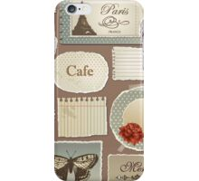 London Cafe 578 iPhone Case/Skin