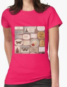 London Cafe 578 Womens Fitted T-Shirt