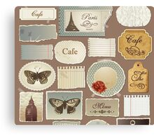 London Cafe Canvas Print