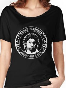 Snake Plissken (doesn't give a shit) Women's Relaxed Fit T-Shirt