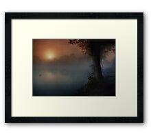 South Weald Still Framed Print