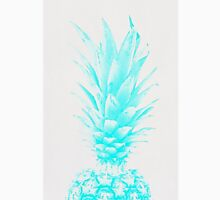 Blue Pineapple Xerox Watercolor Unisex T-Shirt