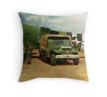Doctor - 1942 - Delivering blood Throw Pillow