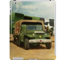 Doctor - 1942 - Delivering blood iPad Case/Skin