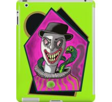 The Clown and Snake Design   iPad Case/Skin