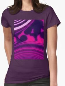 Sunrise - Pink Purple Womens Fitted T-Shirt