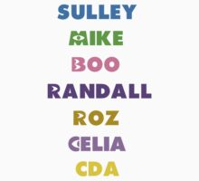 Monsters Inc Names by emilyg23