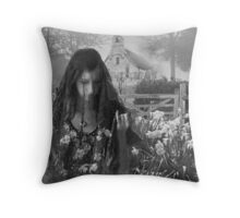Lucid dreams – Dissolving bride Throw Pillow