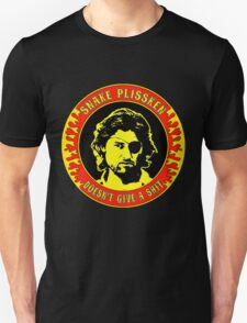 Snake Plissken (doesn't give a shit) Colour 2 Unisex T-Shirt