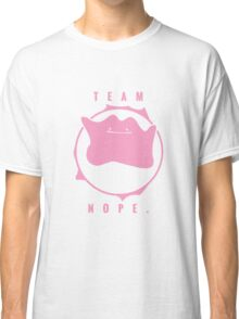Team Nope. - Pokemon Classic T-Shirt