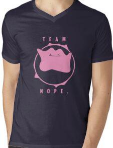 Team Nope. - Pokemon Mens V-Neck T-Shirt