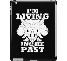 Living in the Past with Triceratops iPad Case/Skin