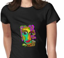 Get your Bold Joy on! Womens Fitted T-Shirt