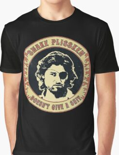 Snake Plissken (doesn't give a shit) Vintage Graphic T-Shirt