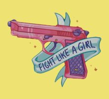 FIGHT LIKE A GIRL VOL. 1  One Piece - Short Sleeve