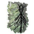 Slenderman and a Forest by WithABlackTail